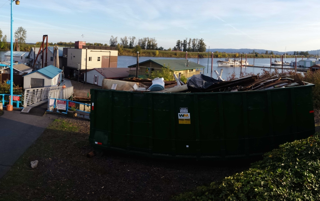 Houseboat Demolition