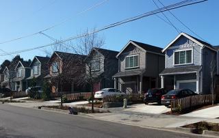 Portland Urban Living skinny houses