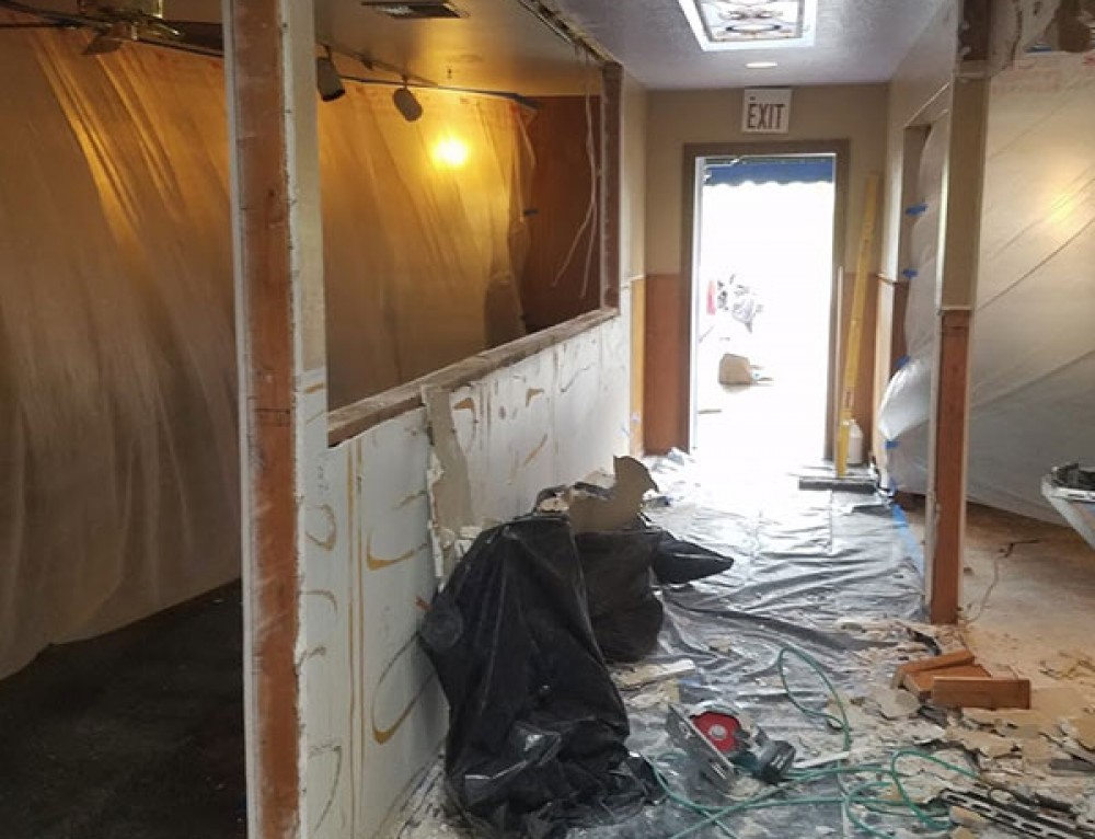 The Rosebud Cafe – New Look in Progress